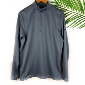 Nike Golf Men's 1/4 ZIP Medium Gray